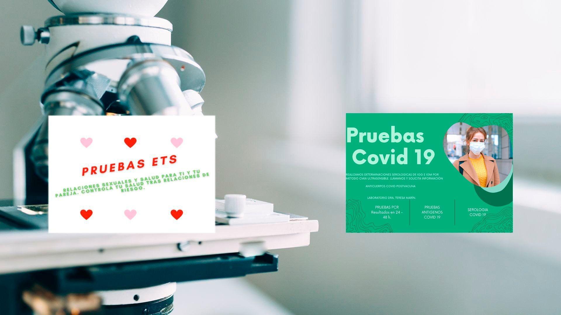 Pruebas ETS y COViD 19