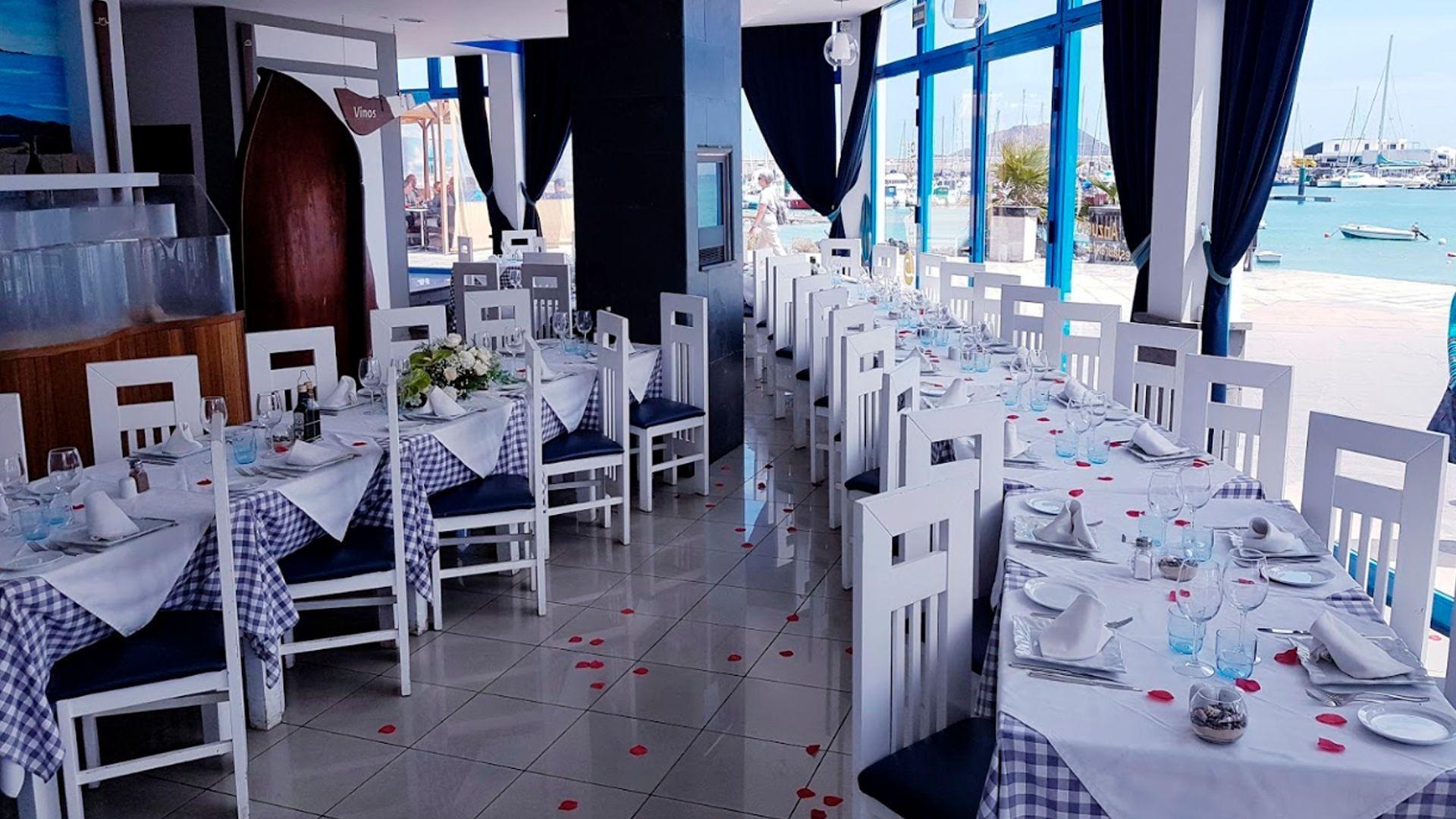Restaurante con menú para grupos en La Oliva