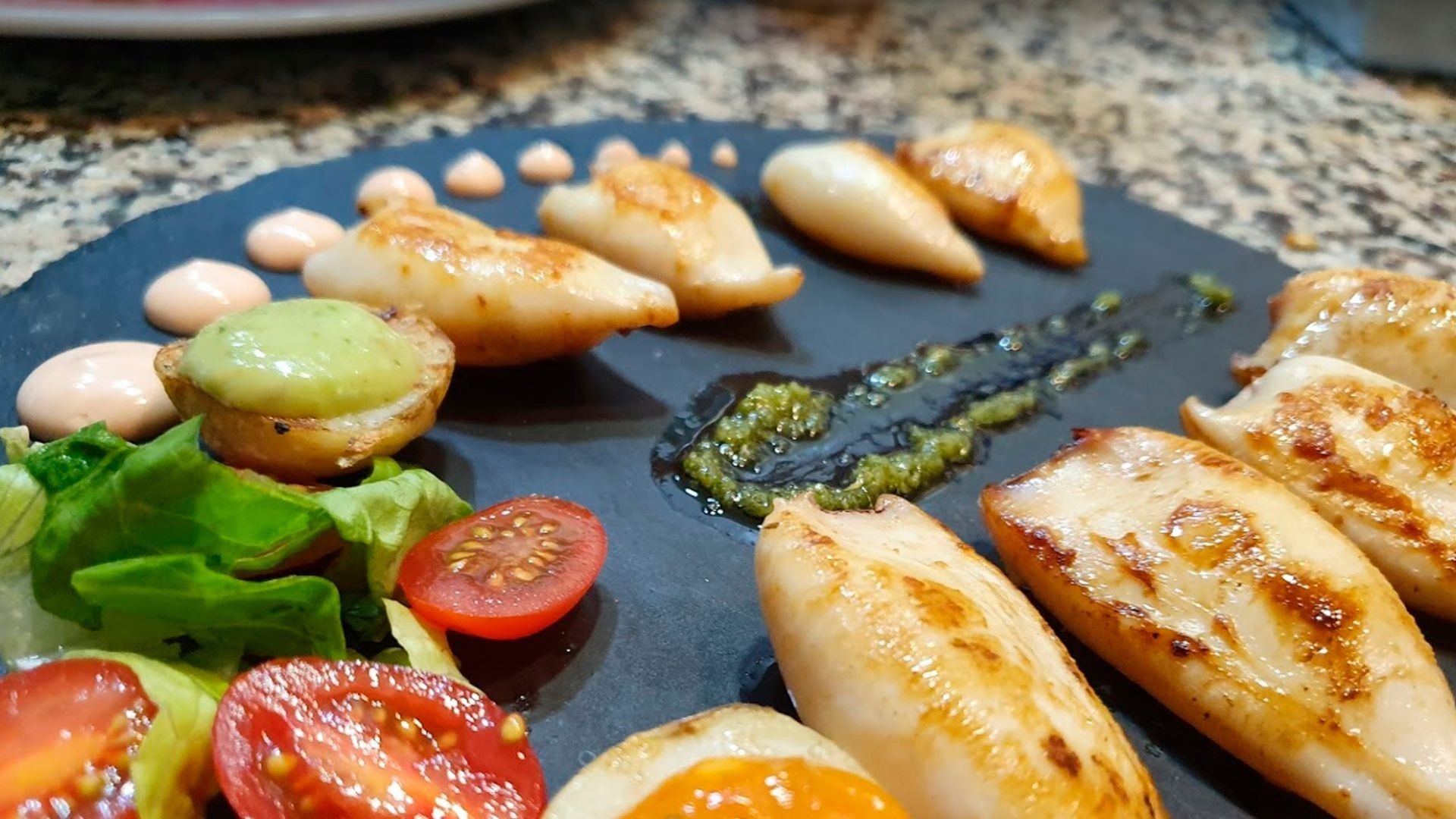 Restaurante de pescados y mariscos en La Oliva