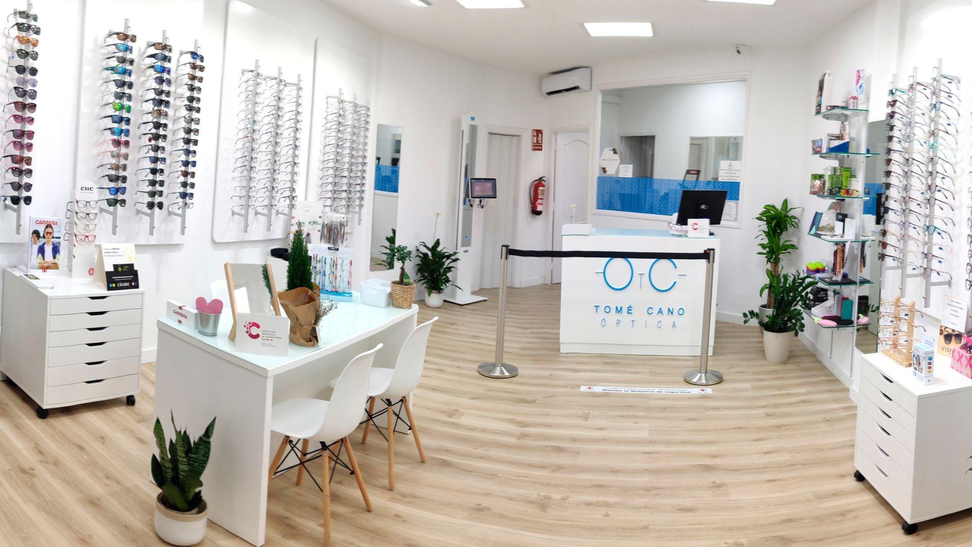 Centro óptico en Santa Cruz de Tenerife
