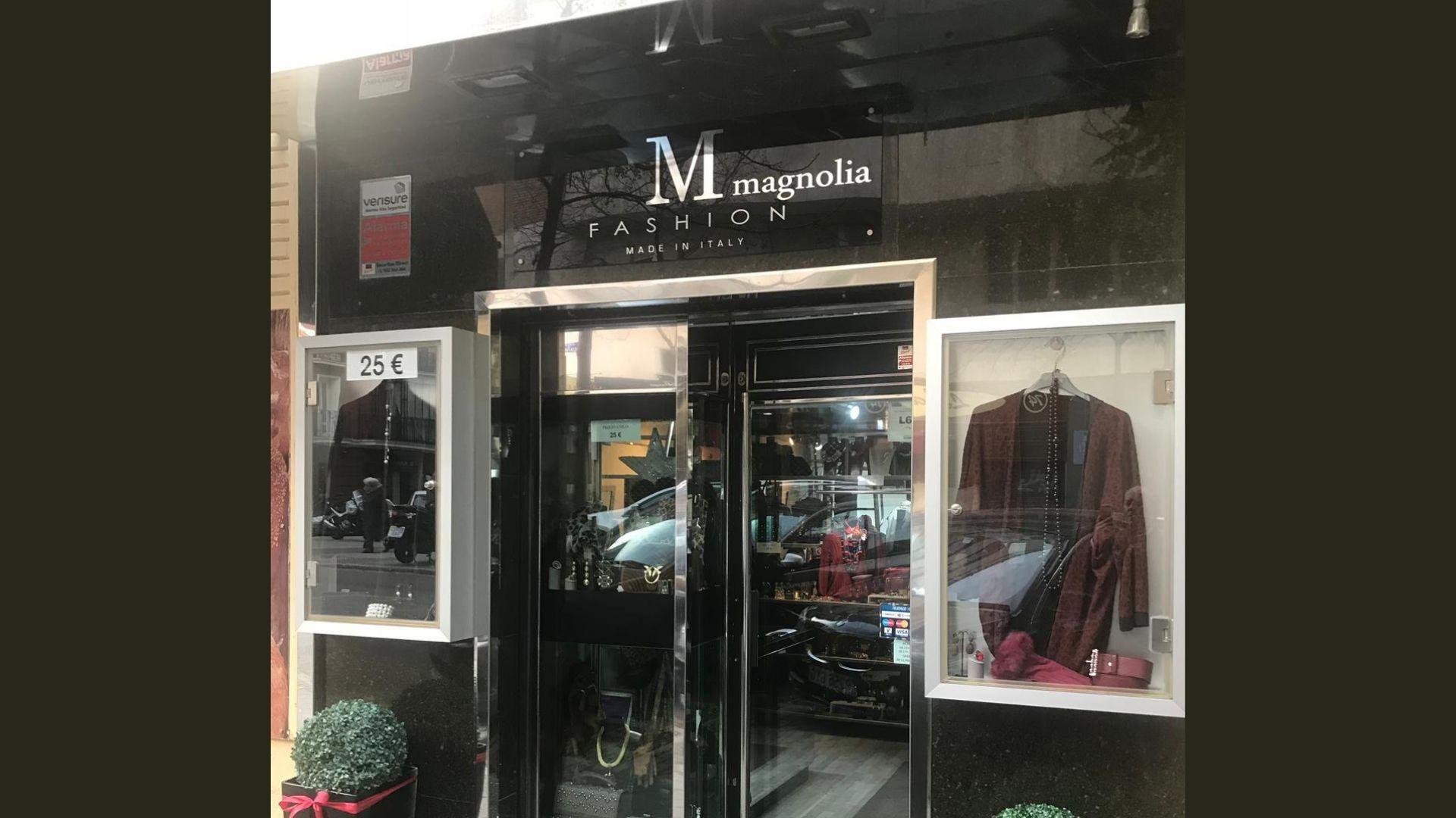 Tienda de ropa de lujo