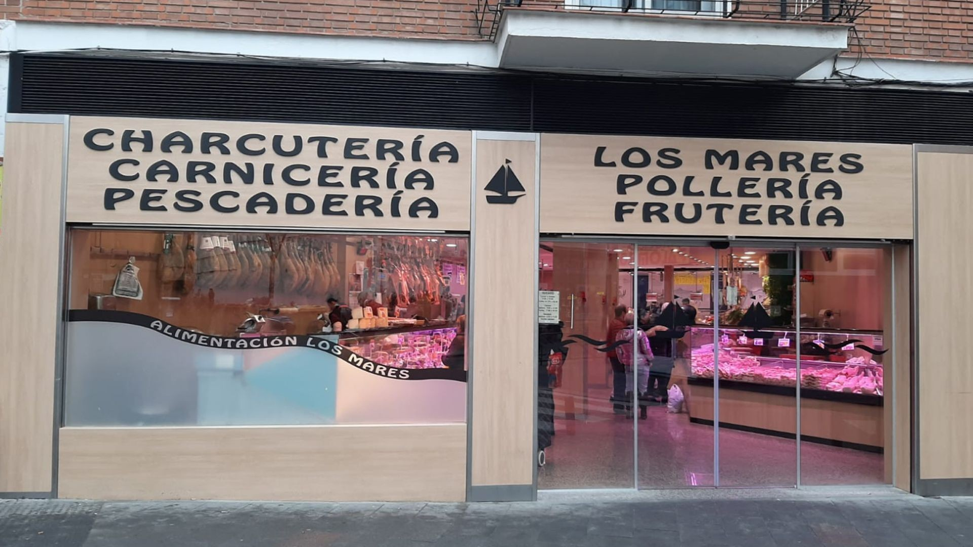 Tienda de alimentación en Madrid