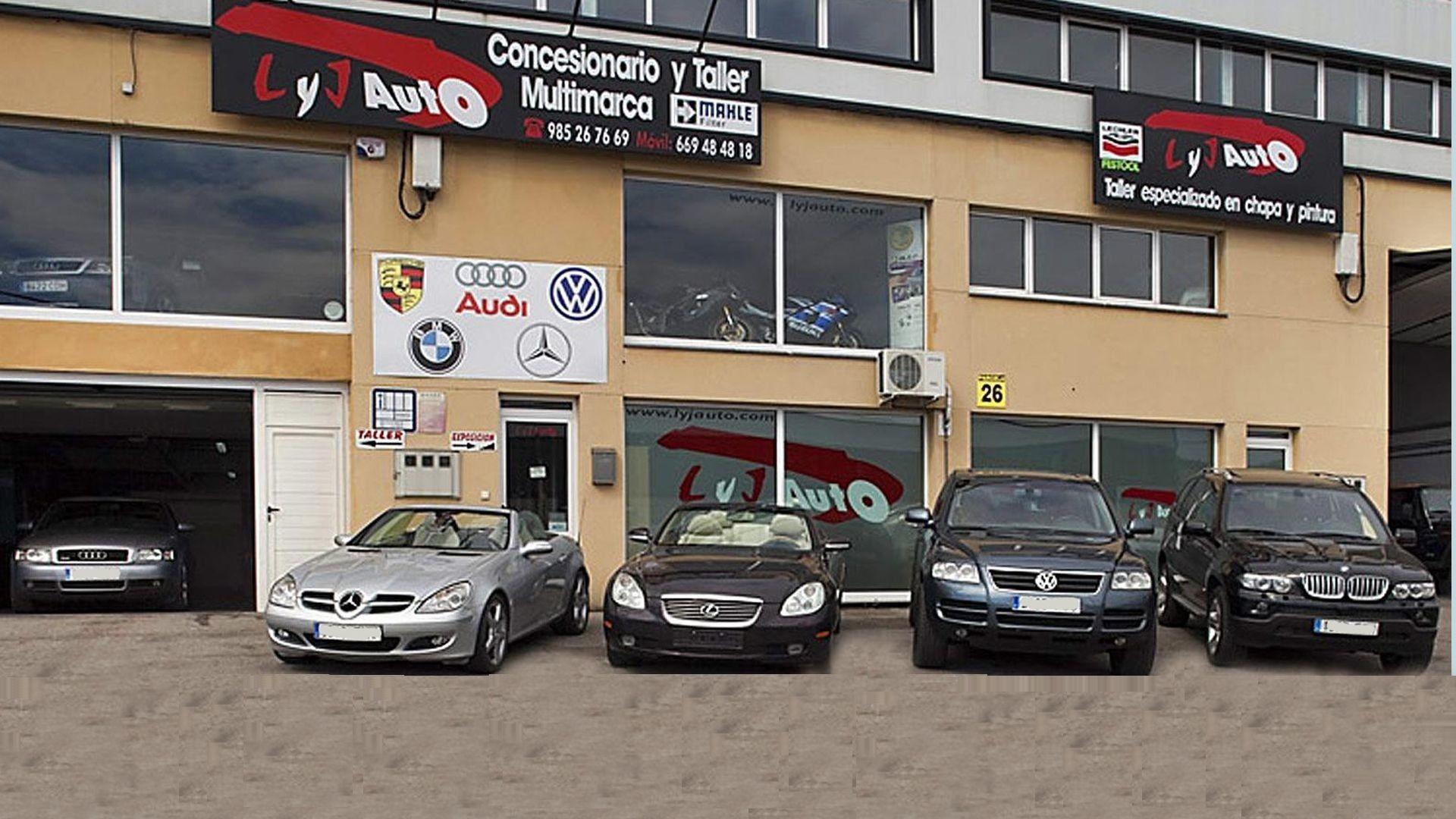 Venta y reparación de vehículos en Barcelona