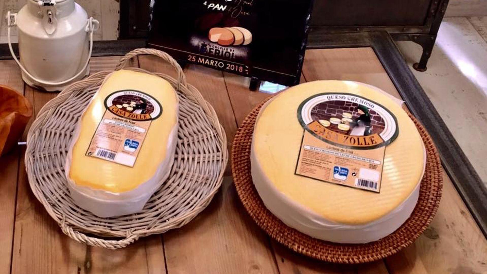 Venta de quesos en Lugo