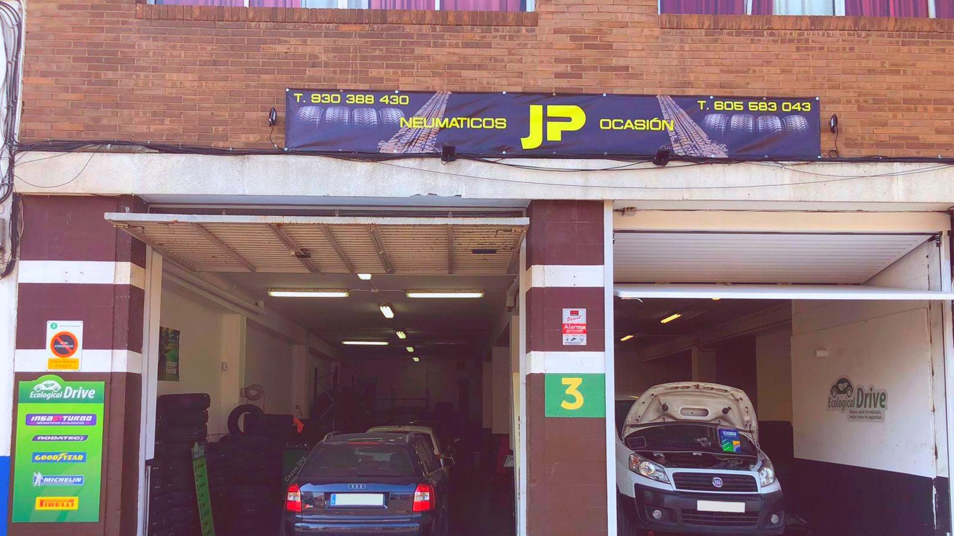 Taller de coches especializado en neumáticos en Hospitalet de Llobregat