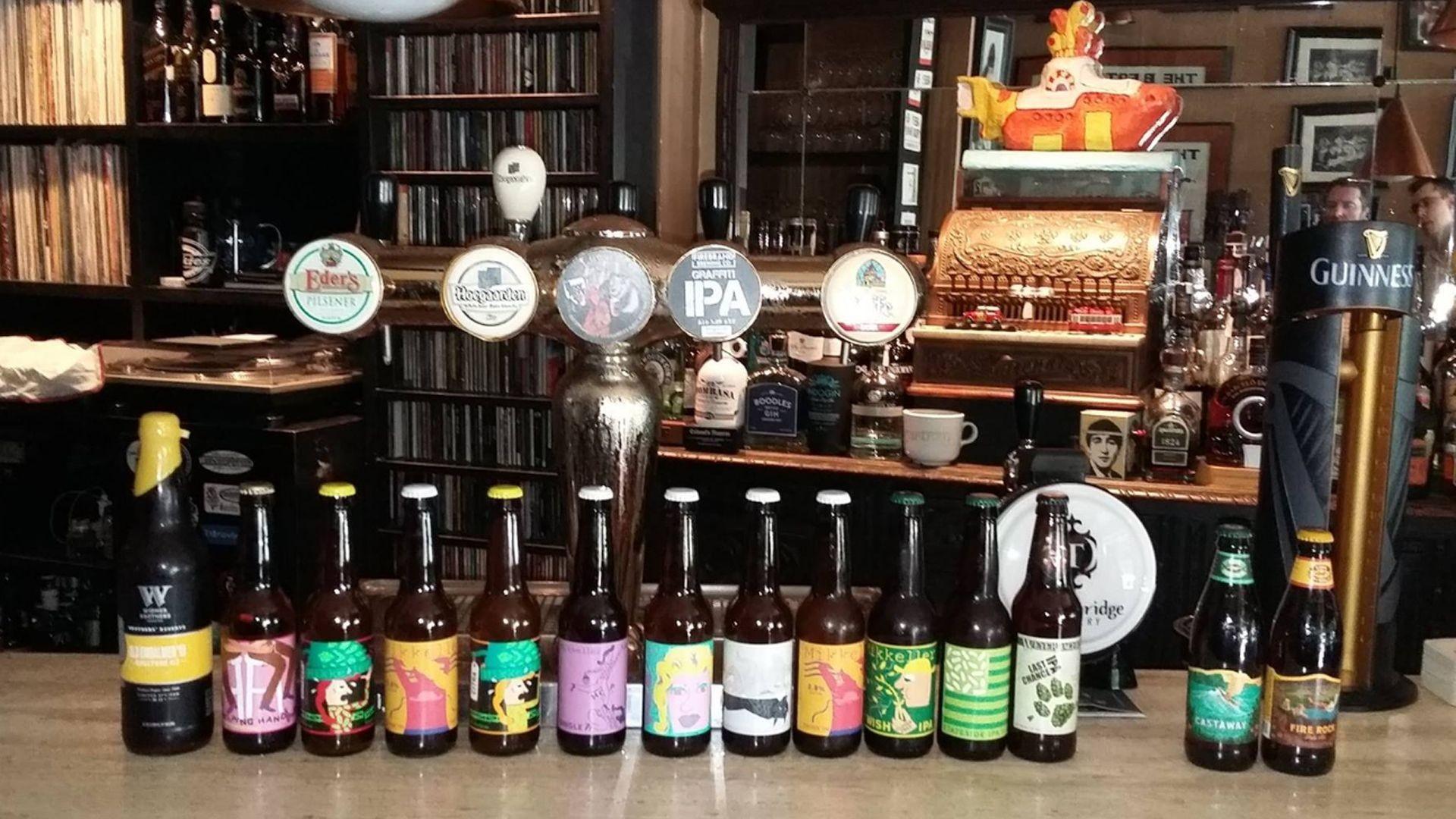 Bar de copas con las mejores marcas de cervez en León