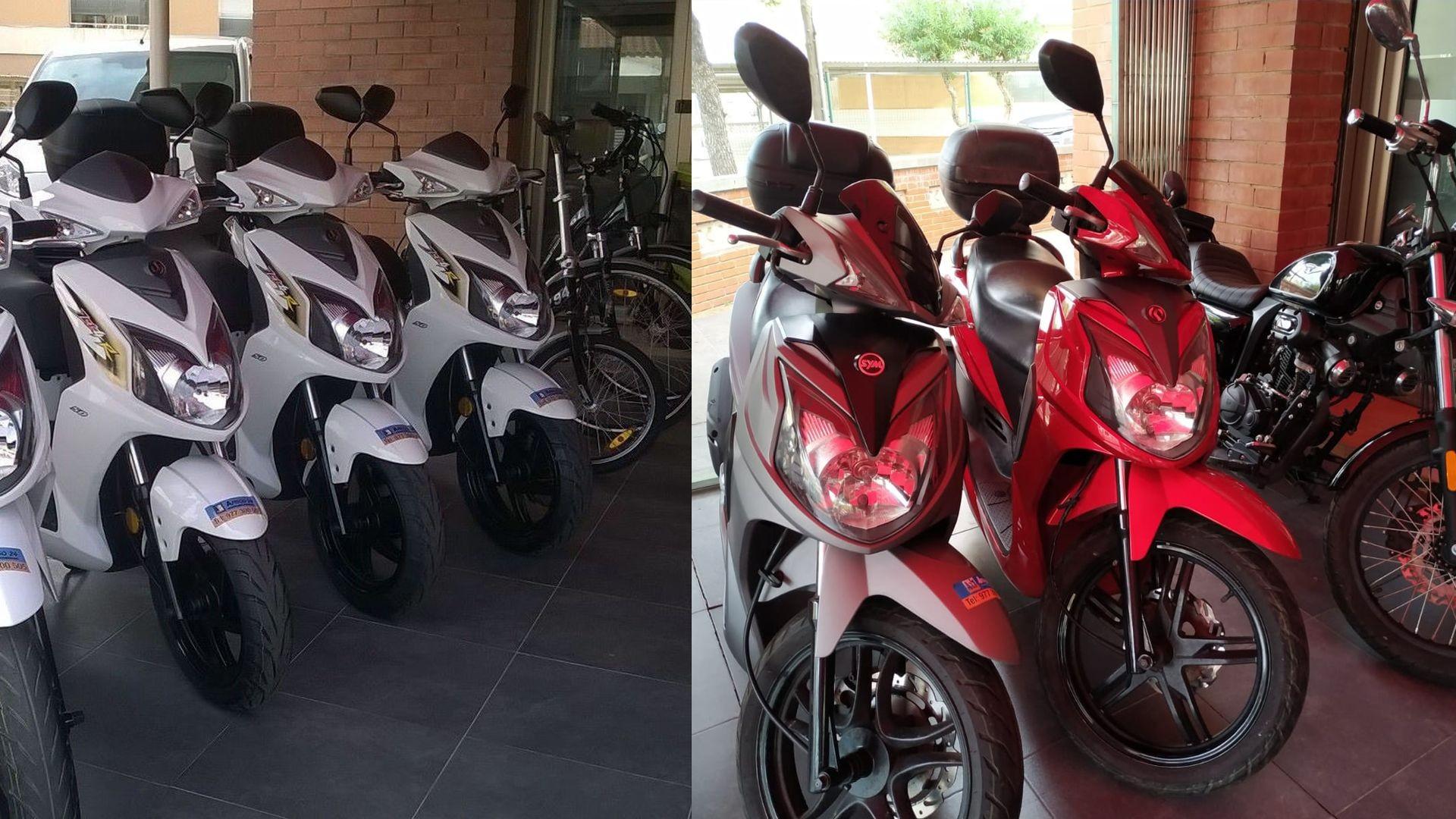 Alquiler de motos Cambrils