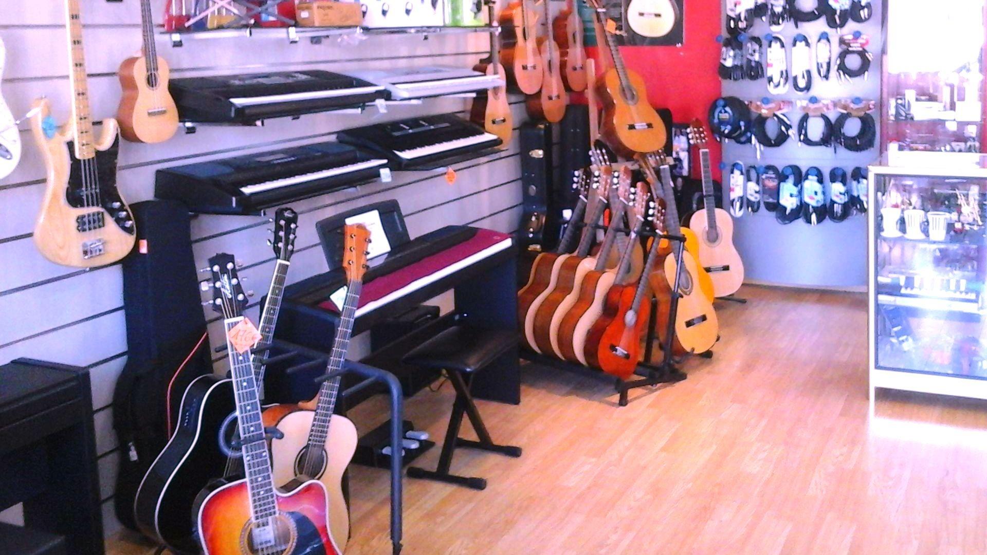 Instrumentos de musica en Valdemoro