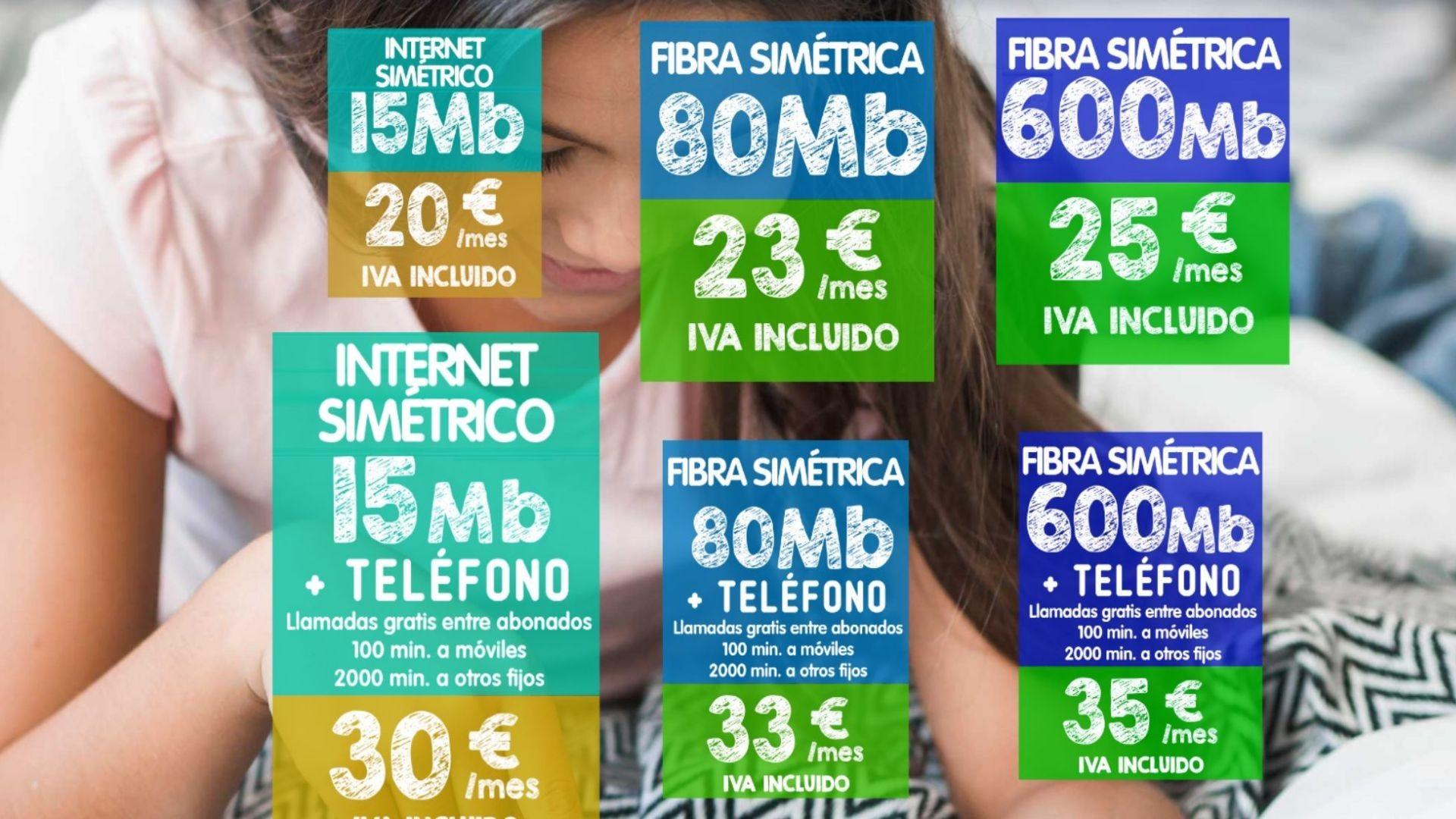 Fibra barata Murcia