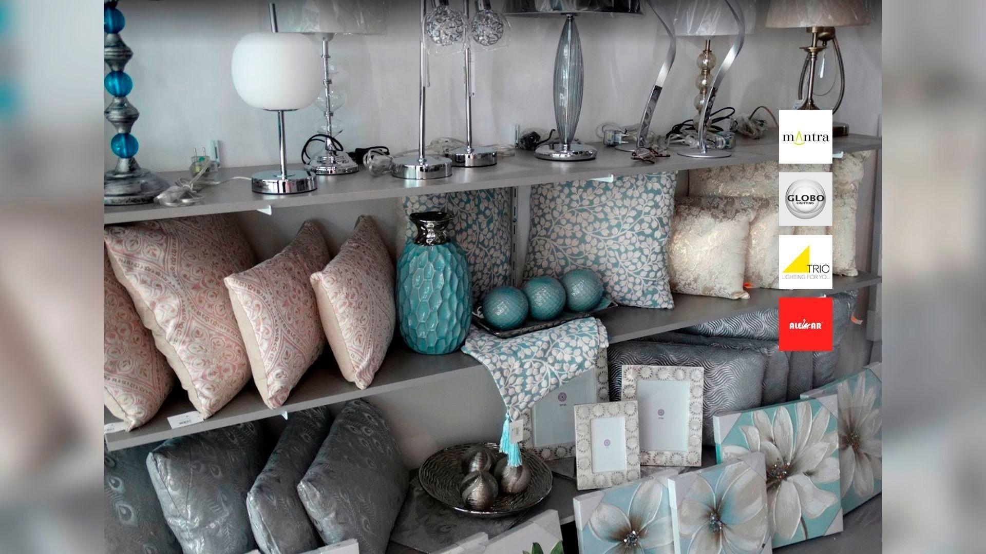 Venta de lámparas y artículos de decoración en Sevilla