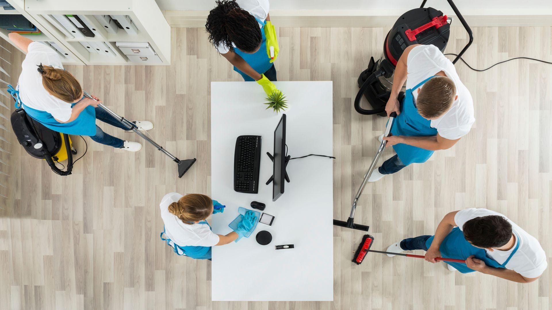 Empresa de limpieza de oficinas en Txurdinaga
