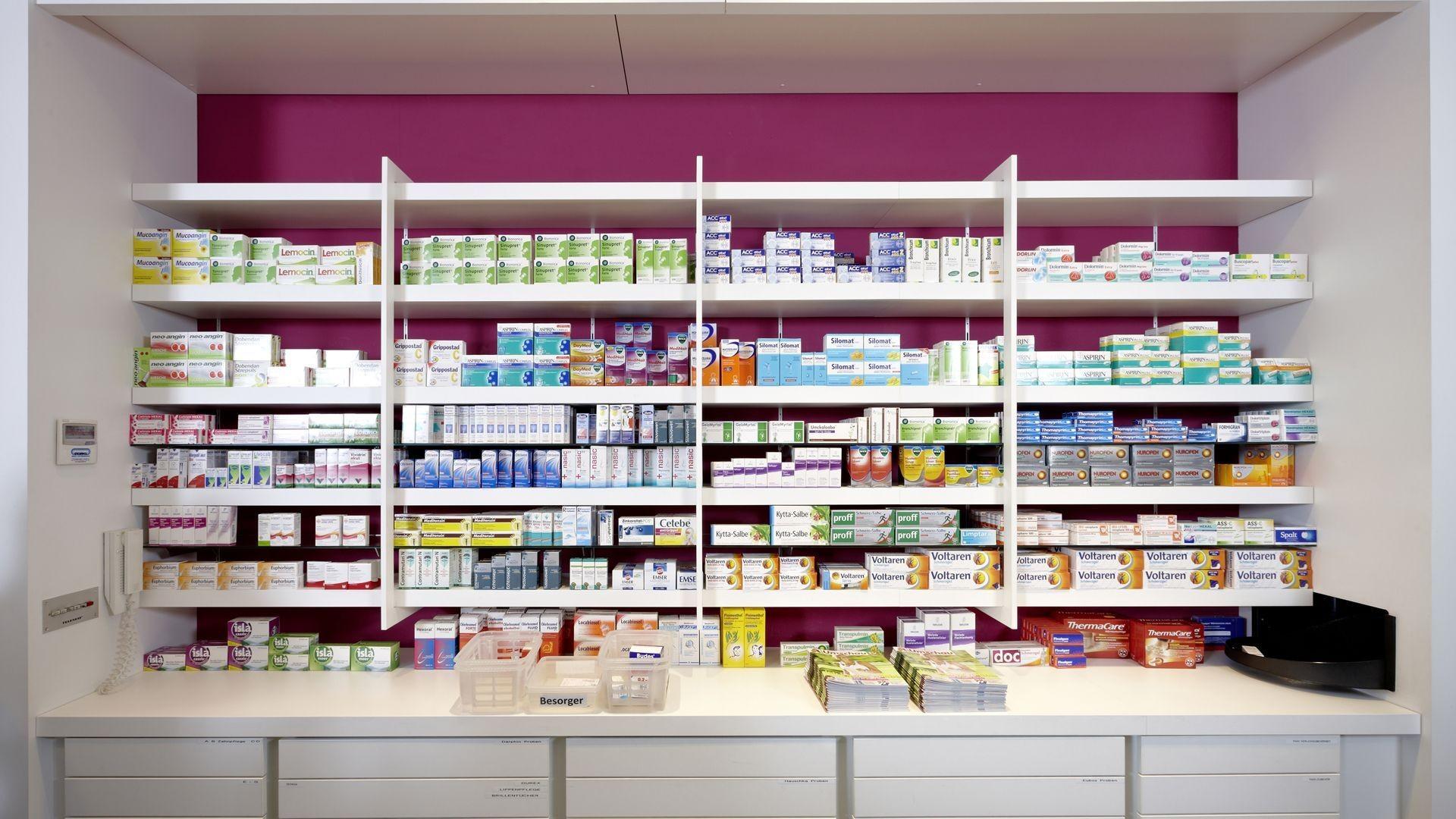 Farmacia en el centro de Madrid