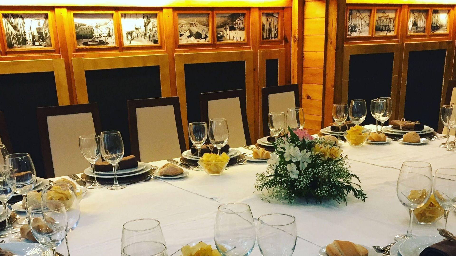 Restaurante para eventos Jaén