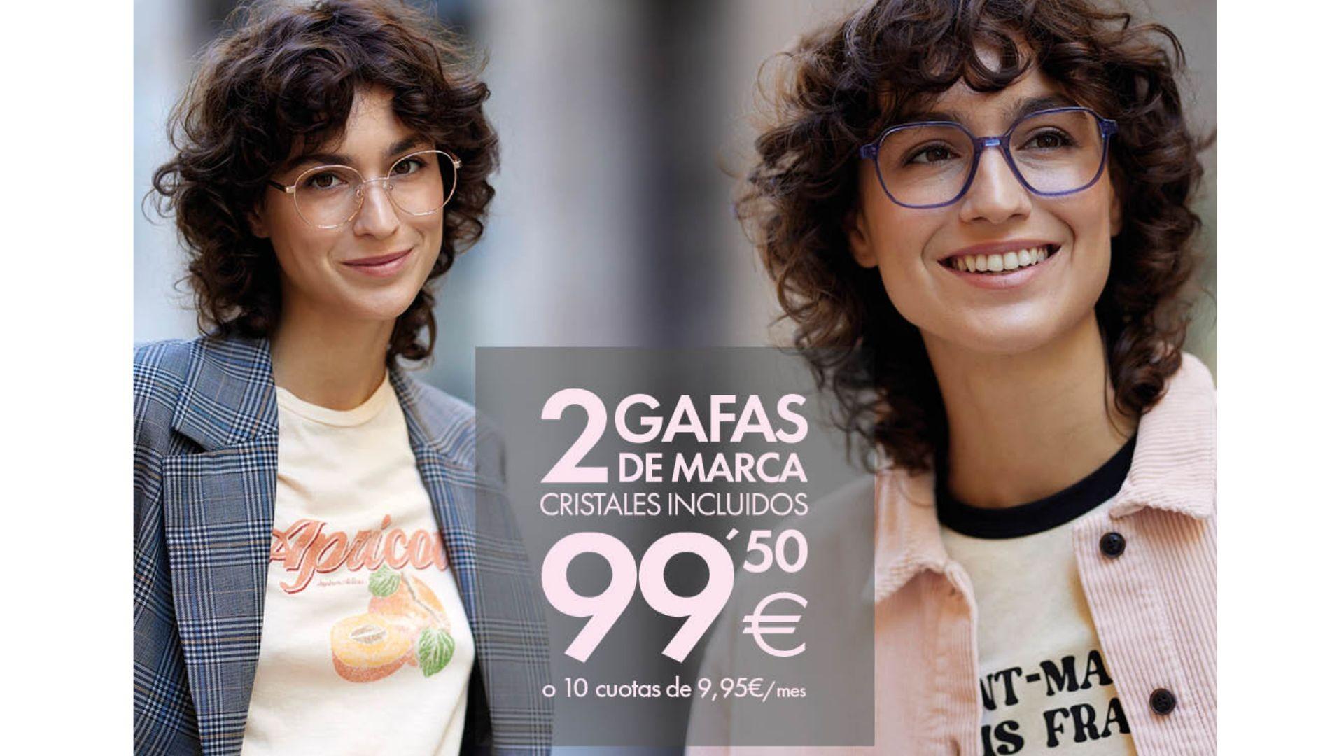 2 GAFAS POR 99,50€ OPTICALIA TORRELAGUNA