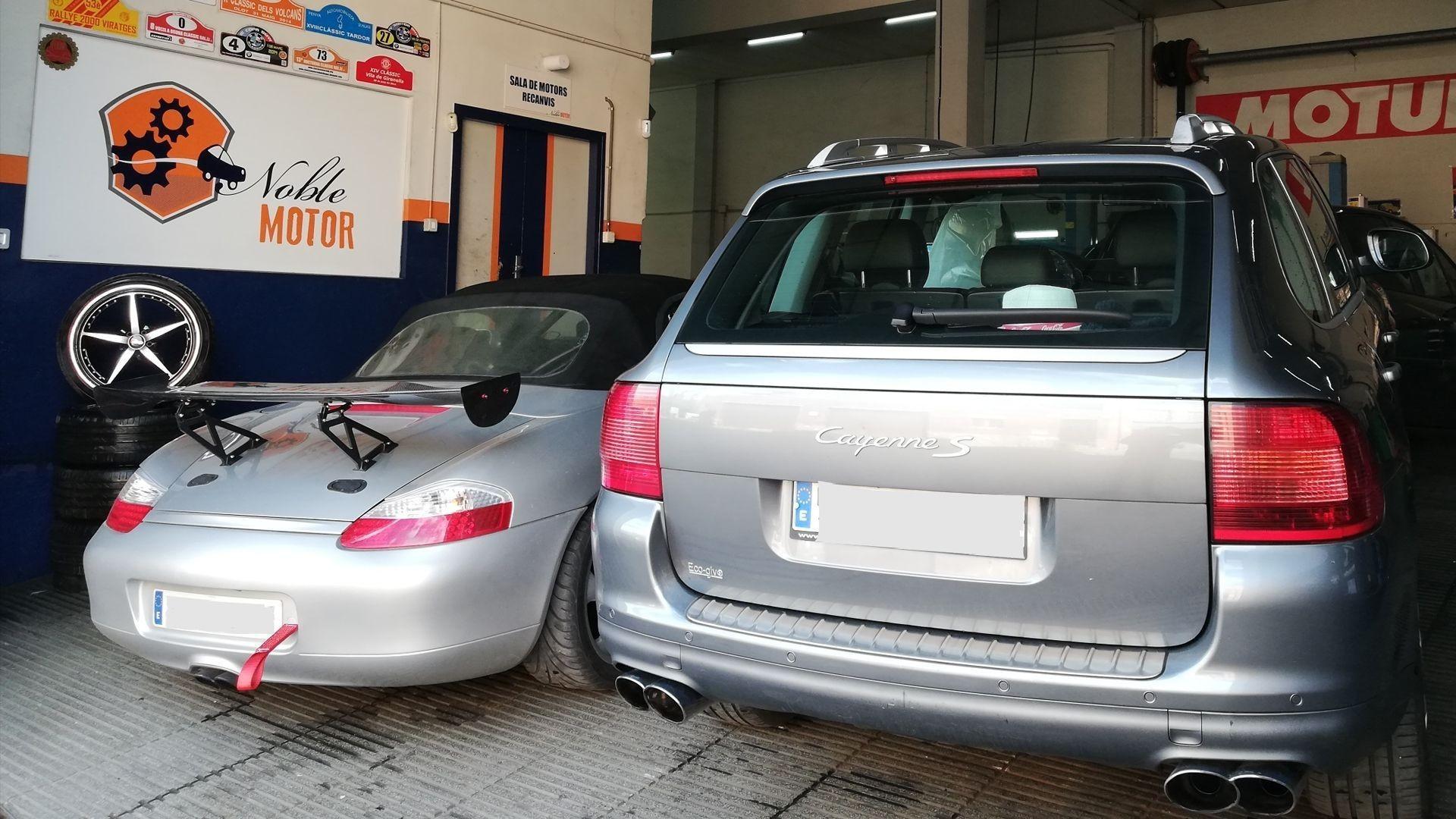 Taller de automóviles en Barcelona