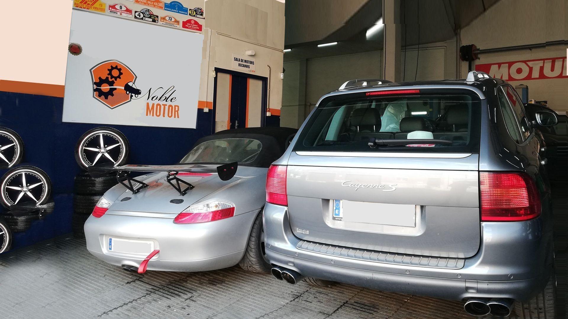 Mecánica de automóviles en Barcelona