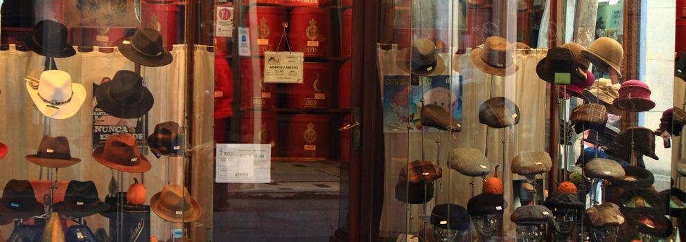 Sombreros y gorras en Santiago de Compostela  148eda60b13