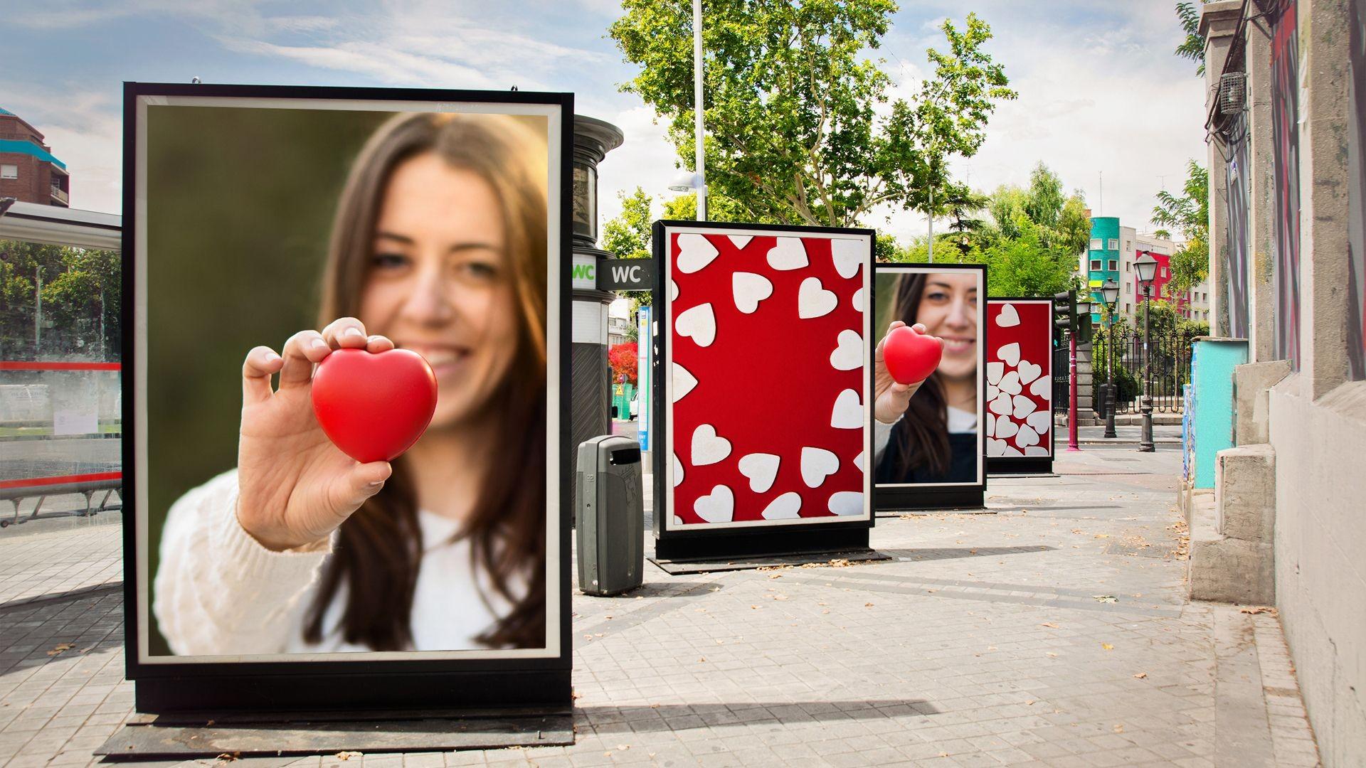 Rótulos de publicidad vertical en Málaga