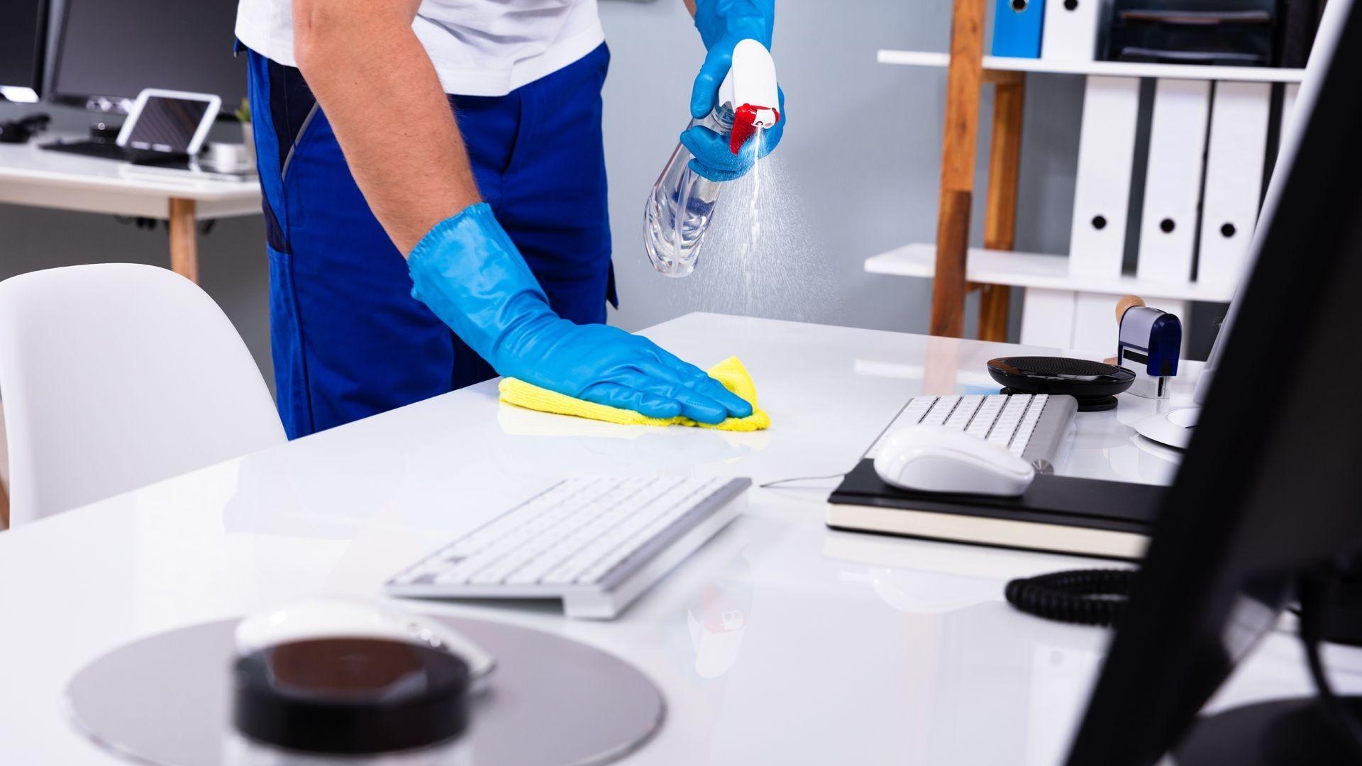 Empresa de limpieza de oficinas en Logroño
