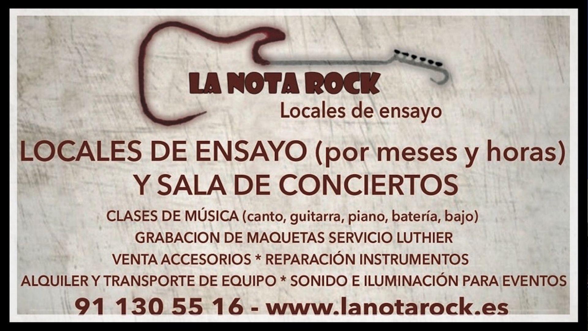 Locales de ensayo La Nota Rock
