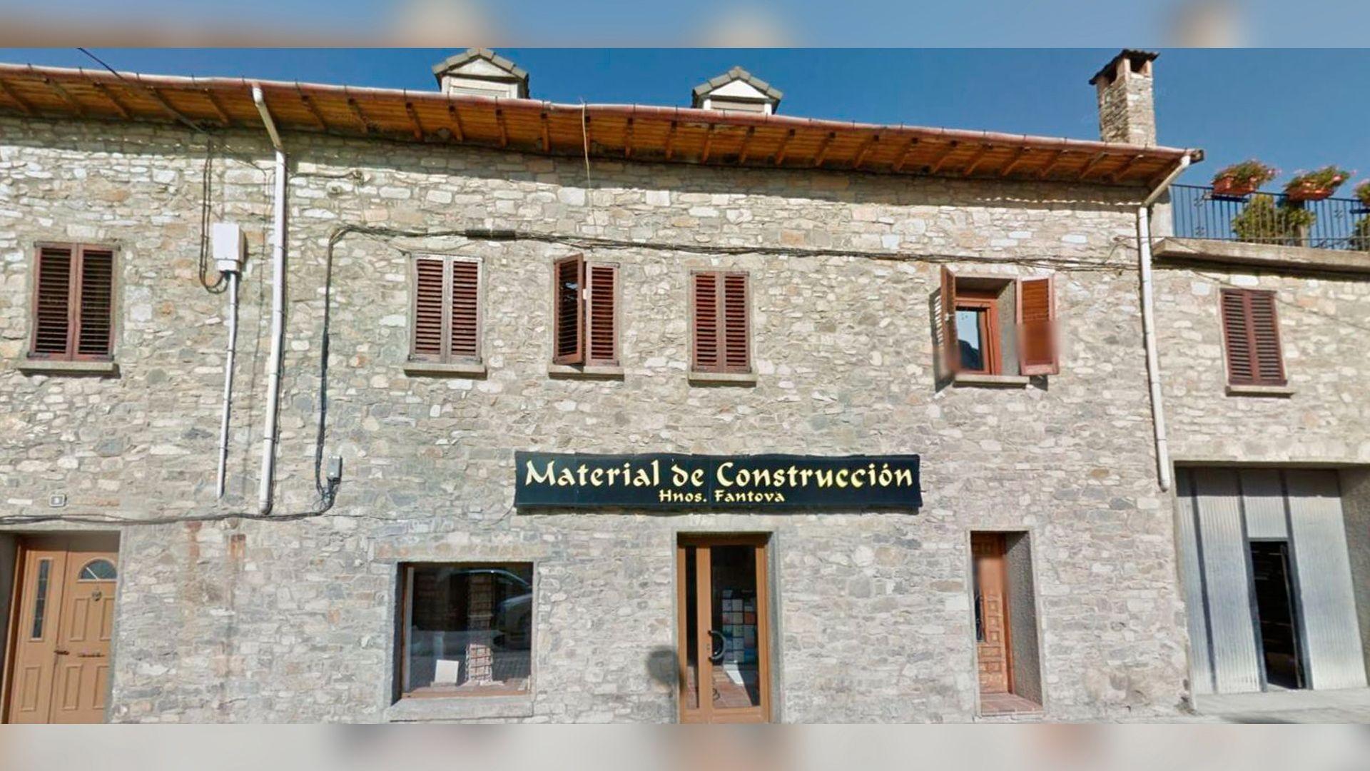 Empresa de materiales de construcción en Aínsa, Huesca