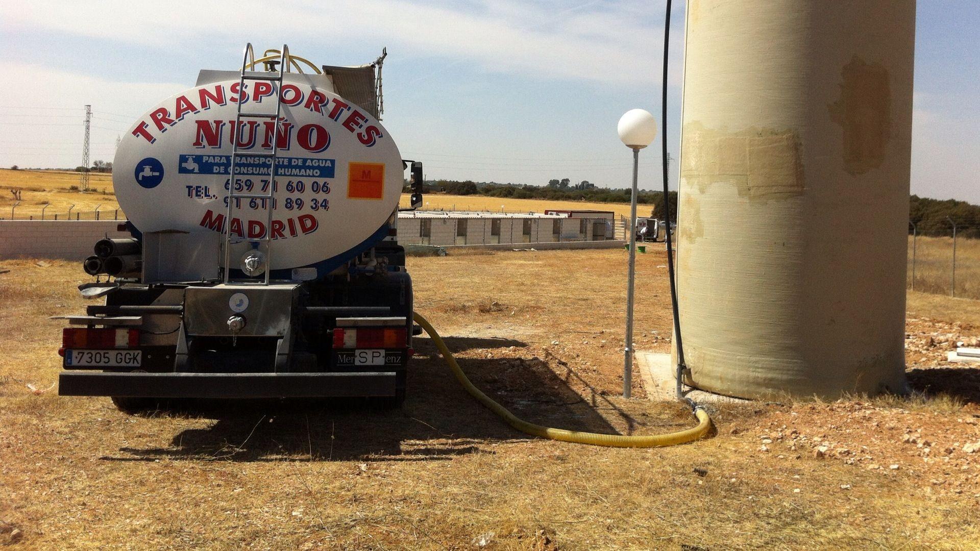 llenado depositos de agua