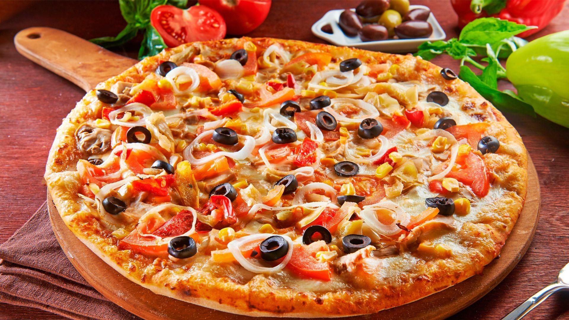 Pizza casera en Malasaña