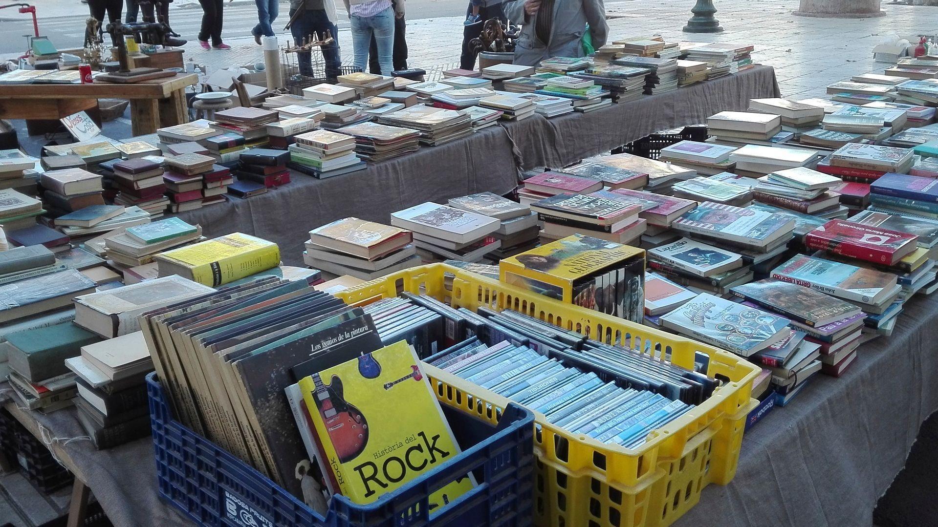 Venta de libros de segunda mano en Barcelona