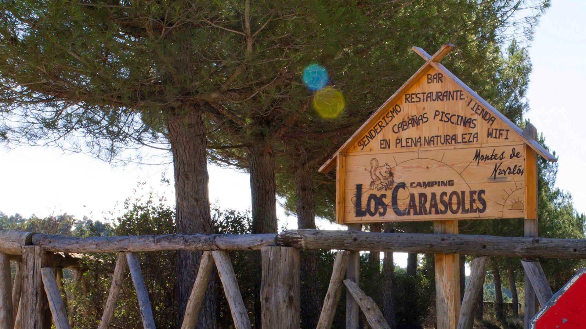 Camping para caravanas en Enguera