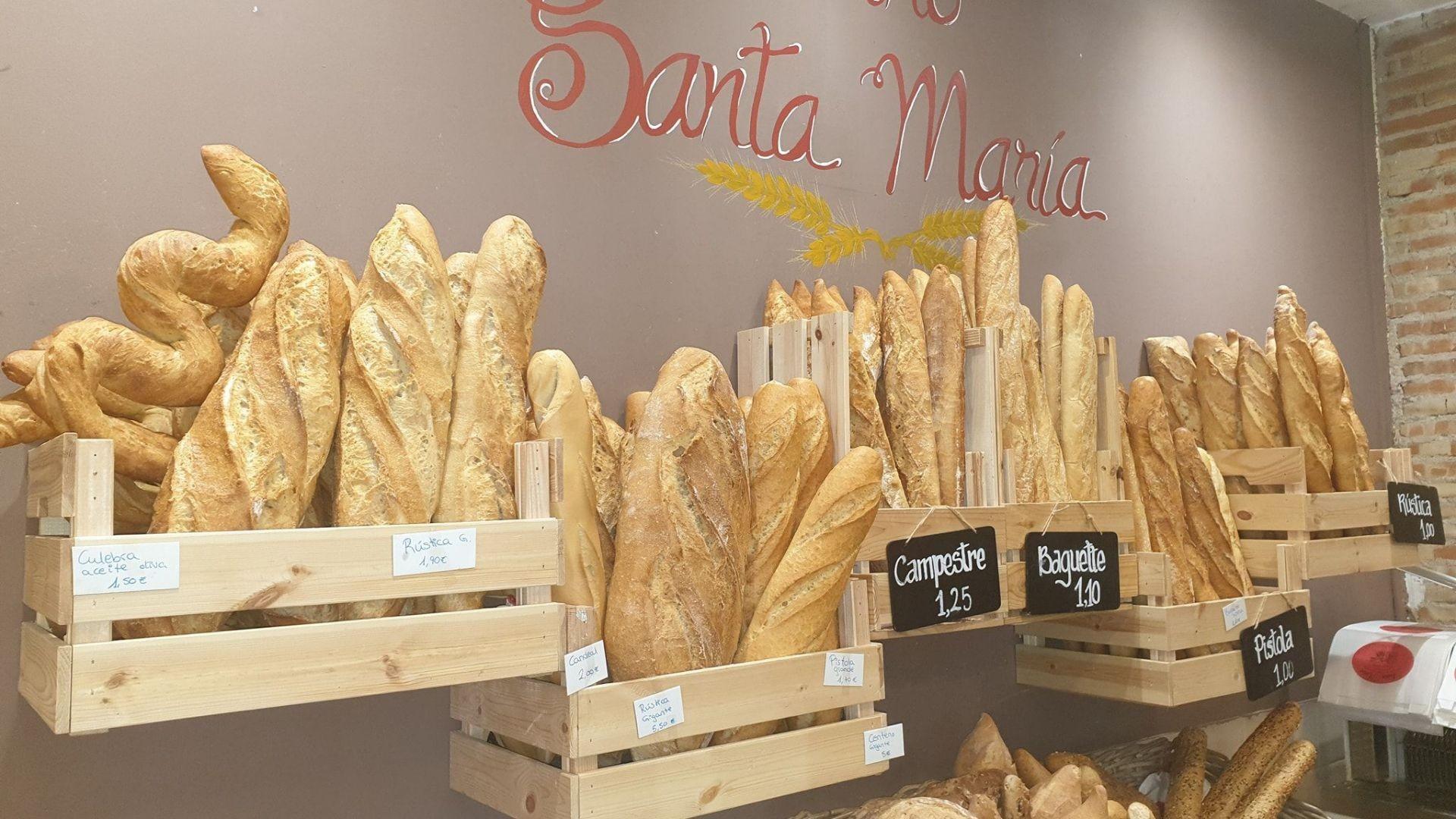 Horno de pan Santa María