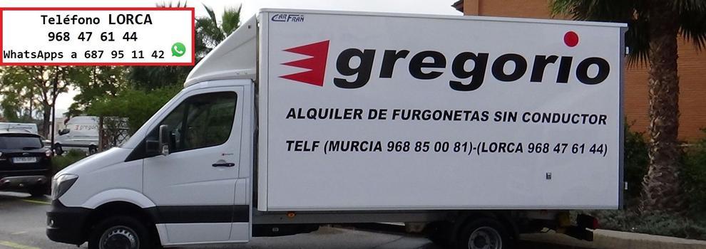 Alquiler De Camiones En Murcia Gregorio Alquiler De Furgonetas Sin