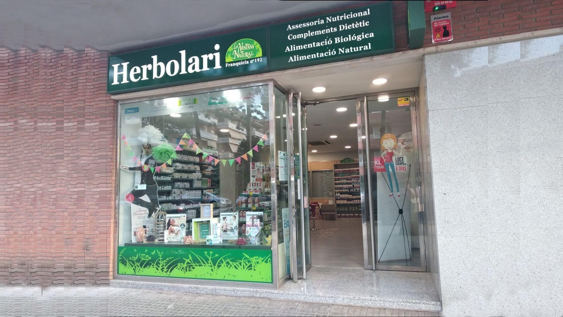 Productos de dietética en Barcelona