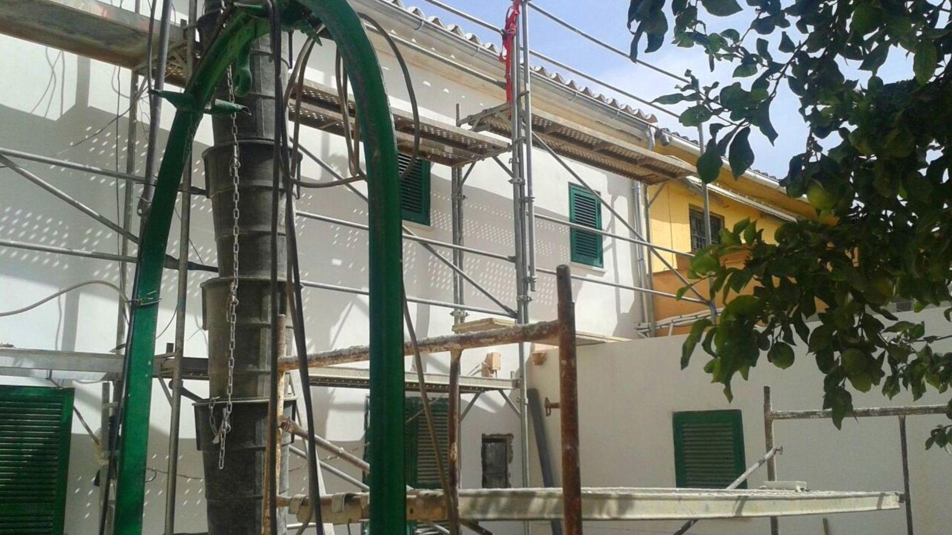 Restauranción de fachadas Miralles Reformas