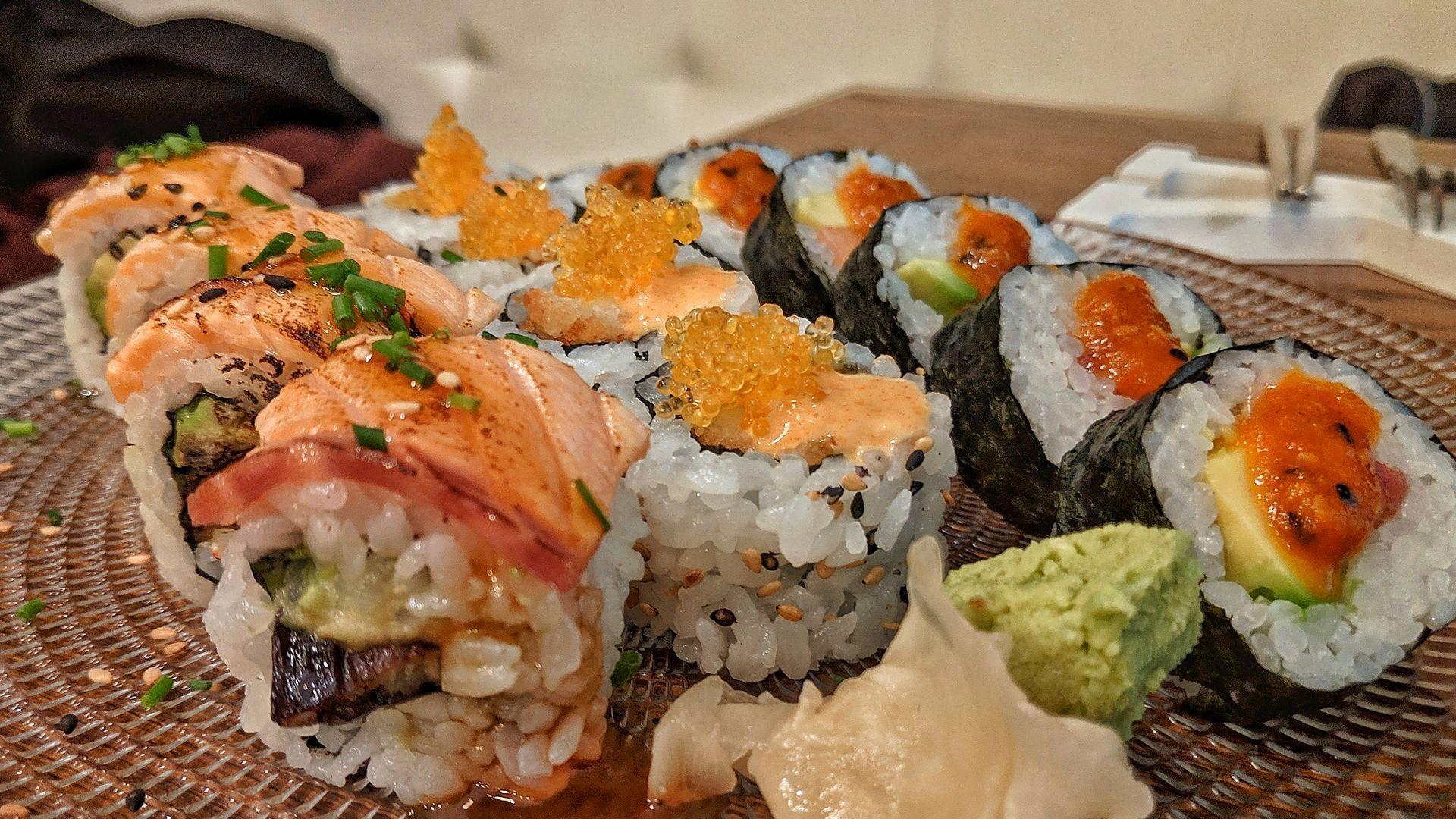 Comida japonesa en Vigo