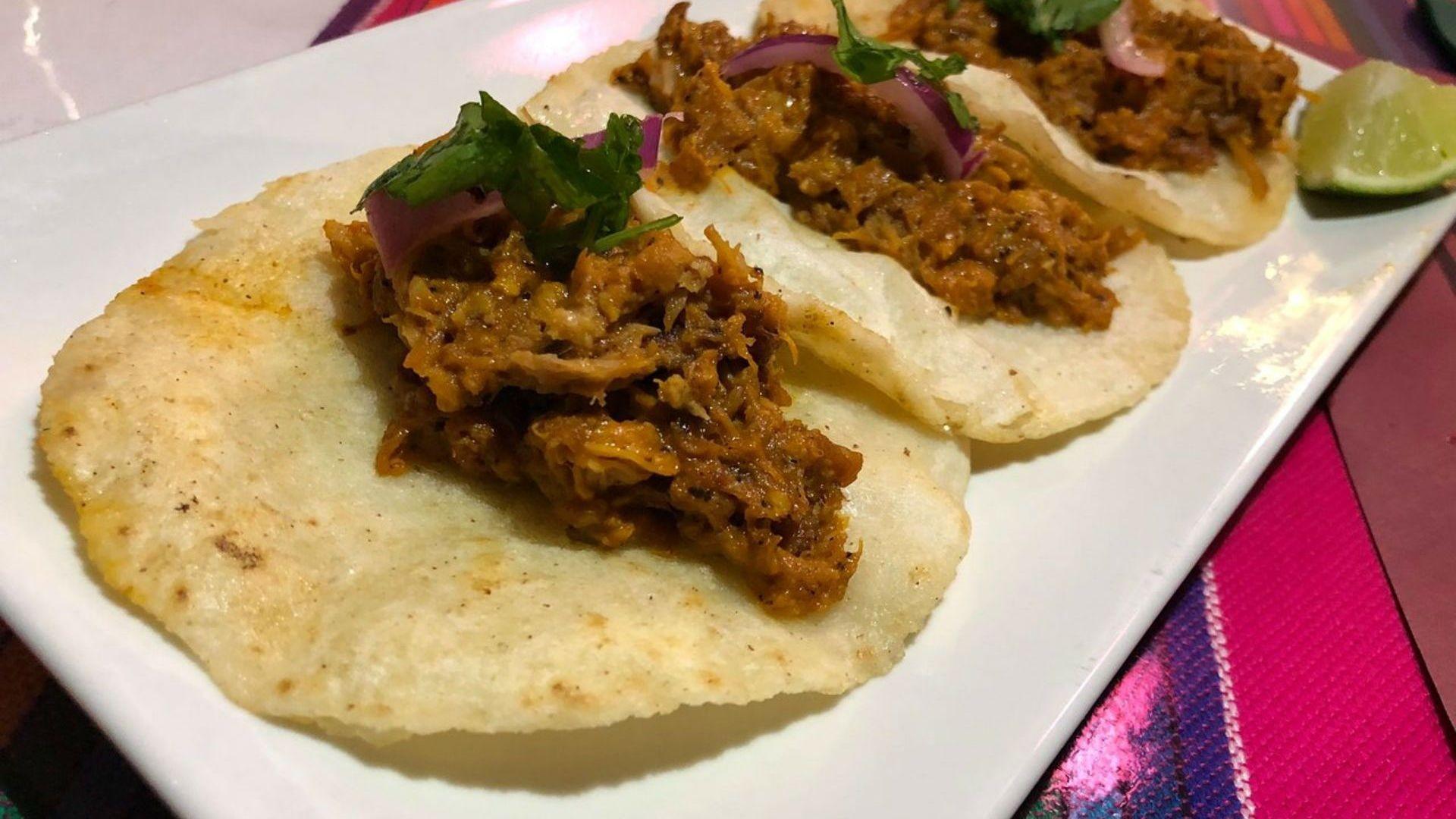 Comida mexicana en Pamplona