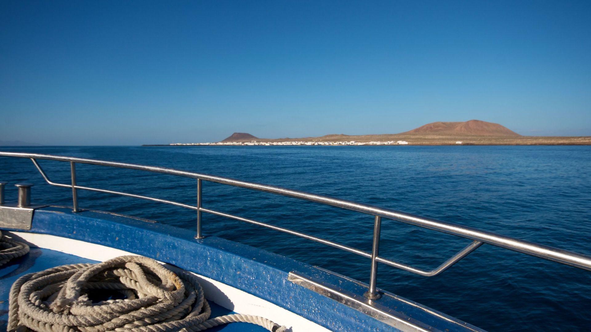 Cómo llegar a La Graciosa Lanzarote
