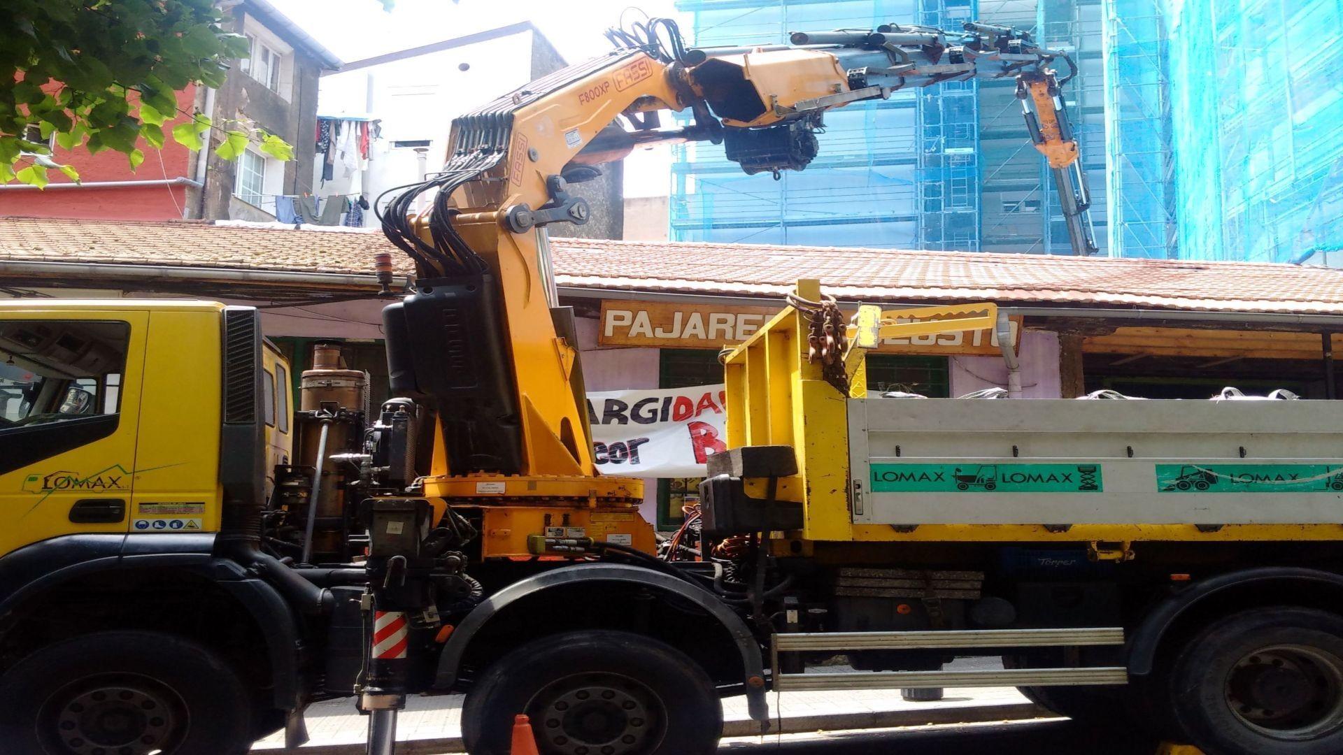 Camión grúa Bilbao