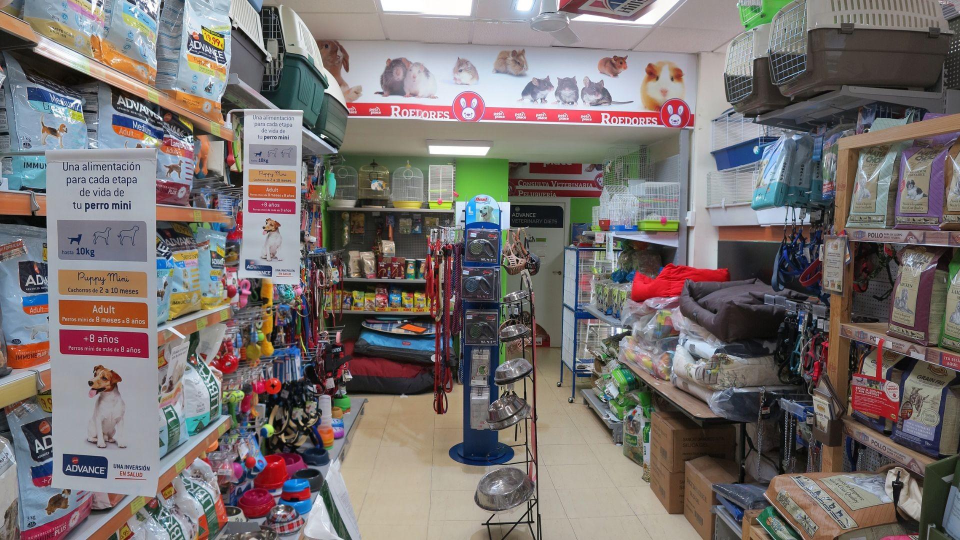 Tienda veterinaria en Hortaleza