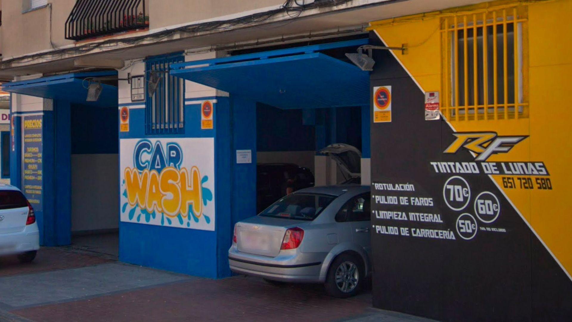 Lavado de coches a mano en Alcorcón