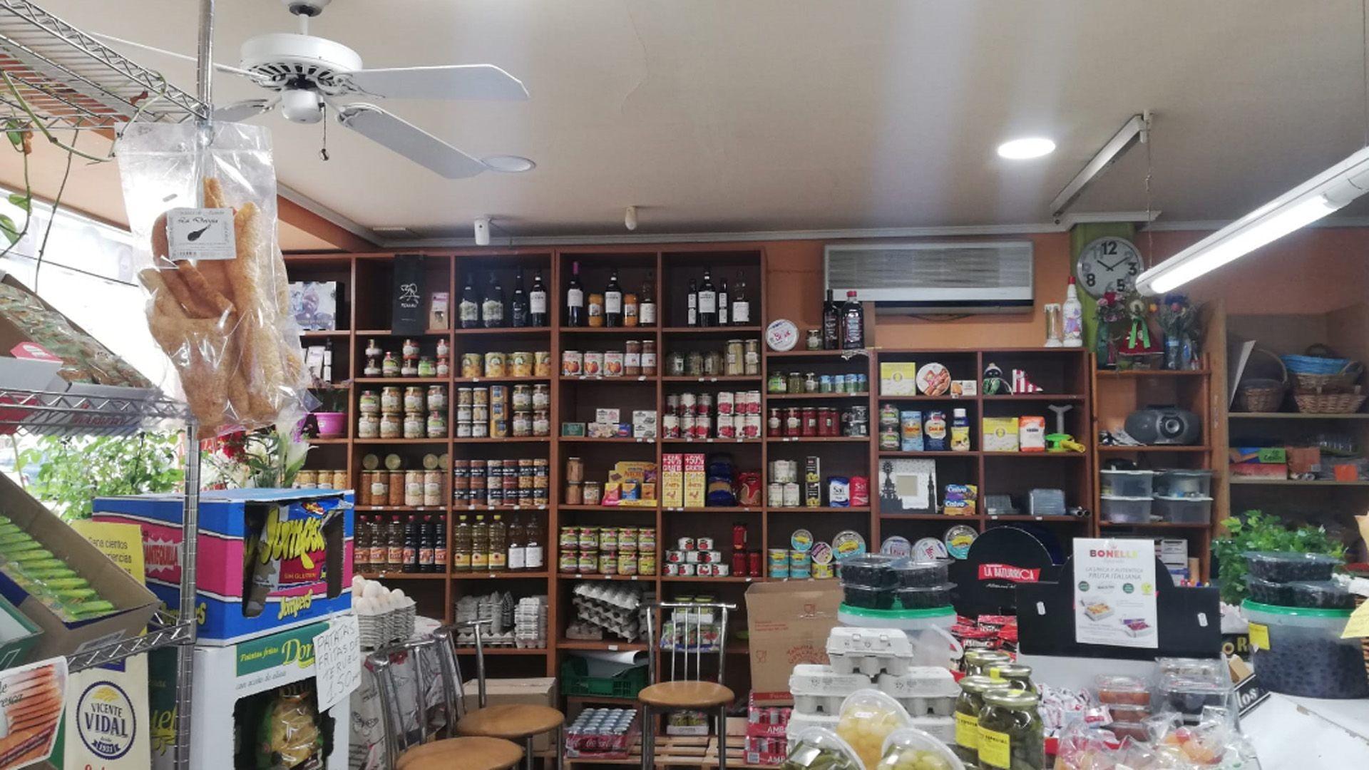 Tienda de alimentación en Zaragoza