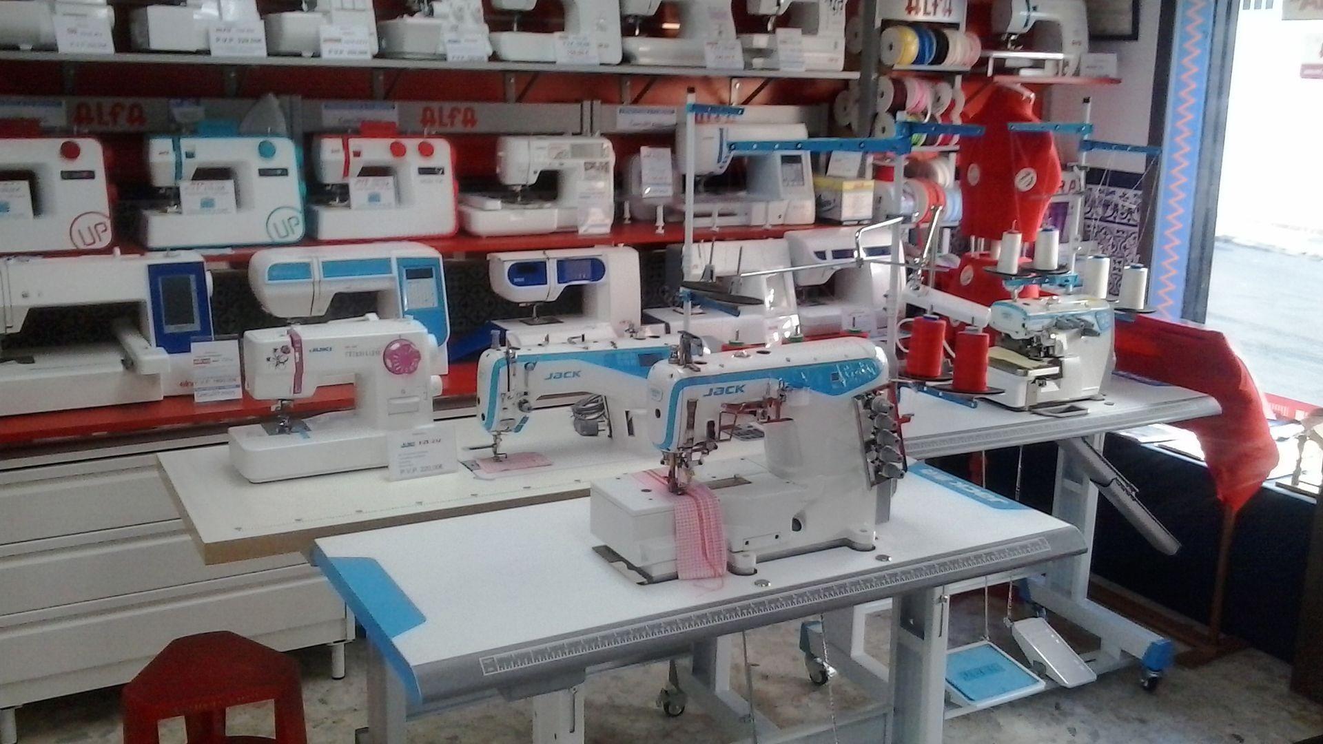 Reparación y venta de máquinas de coser en Almería