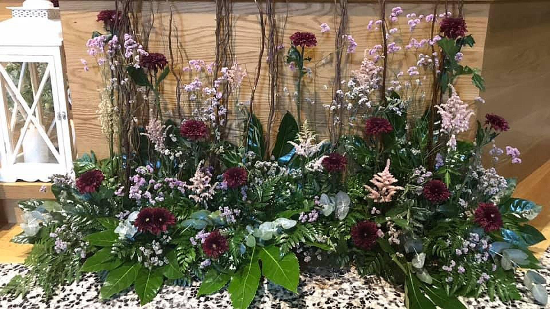 Adornos florales en Navarra