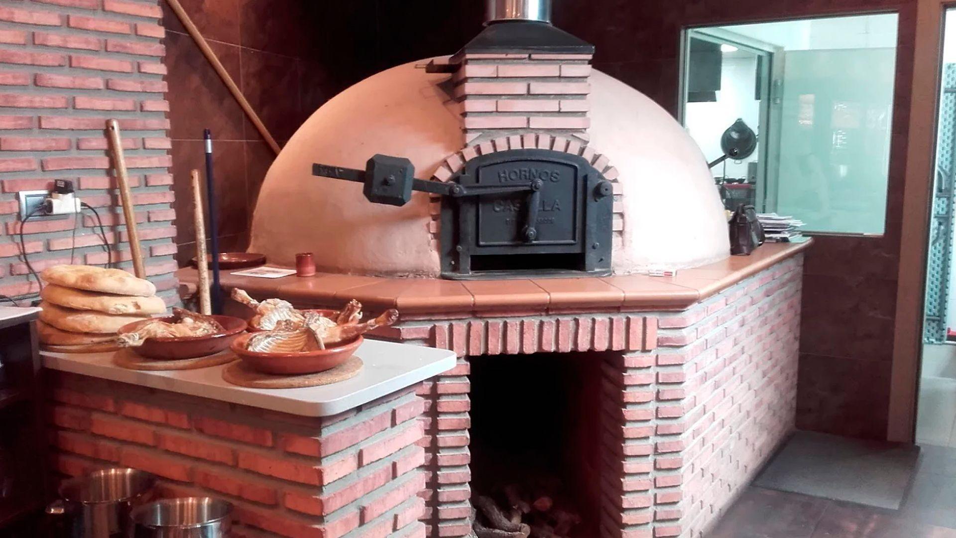 Restaurante con horno de leña en Aranda de Duero