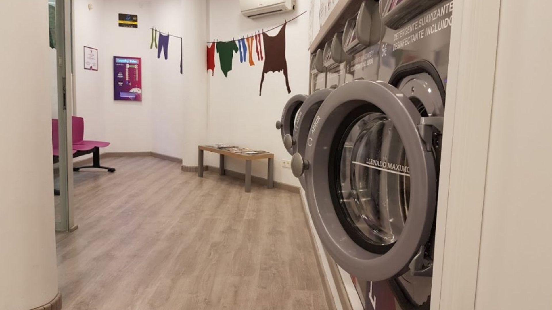 Lavandería automática en Zaragoza