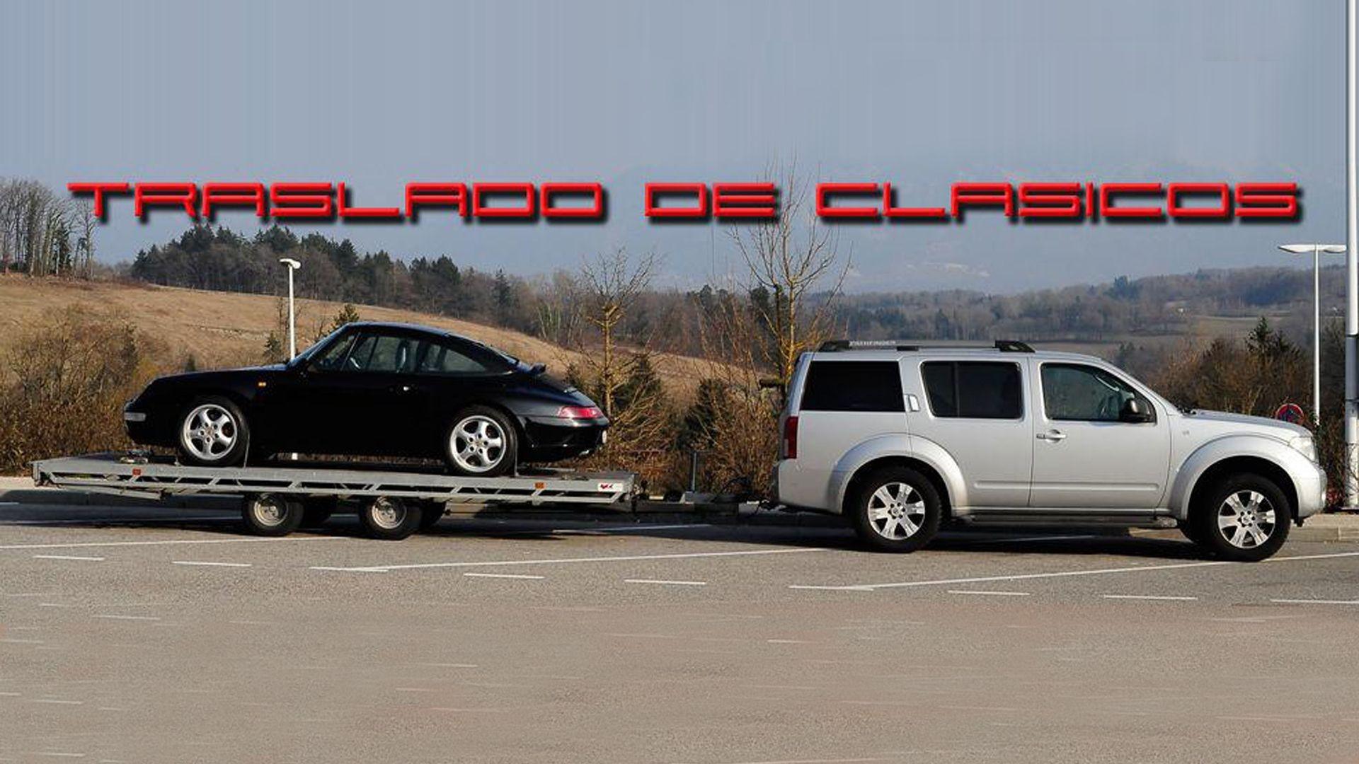 Plataforma para transporte de vehículos especiales