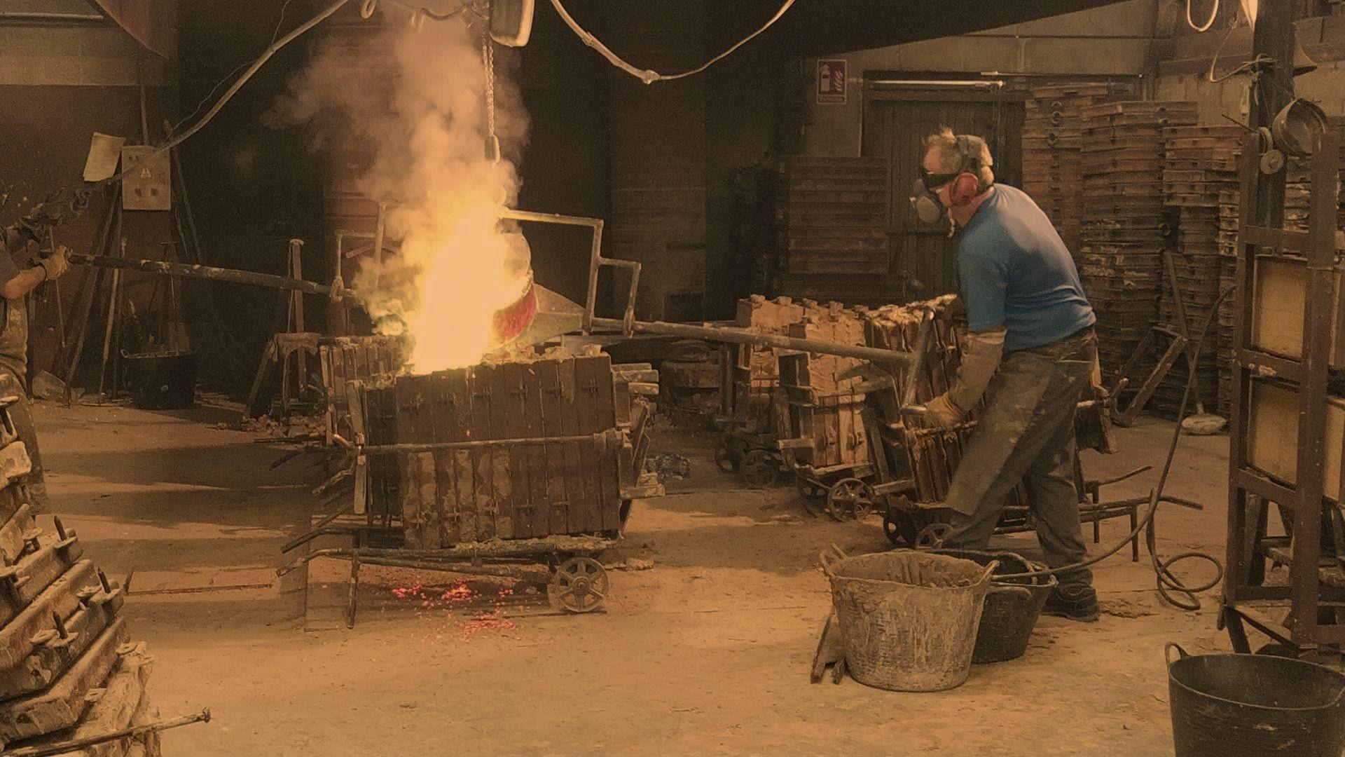 Fundición de metales en Valencia