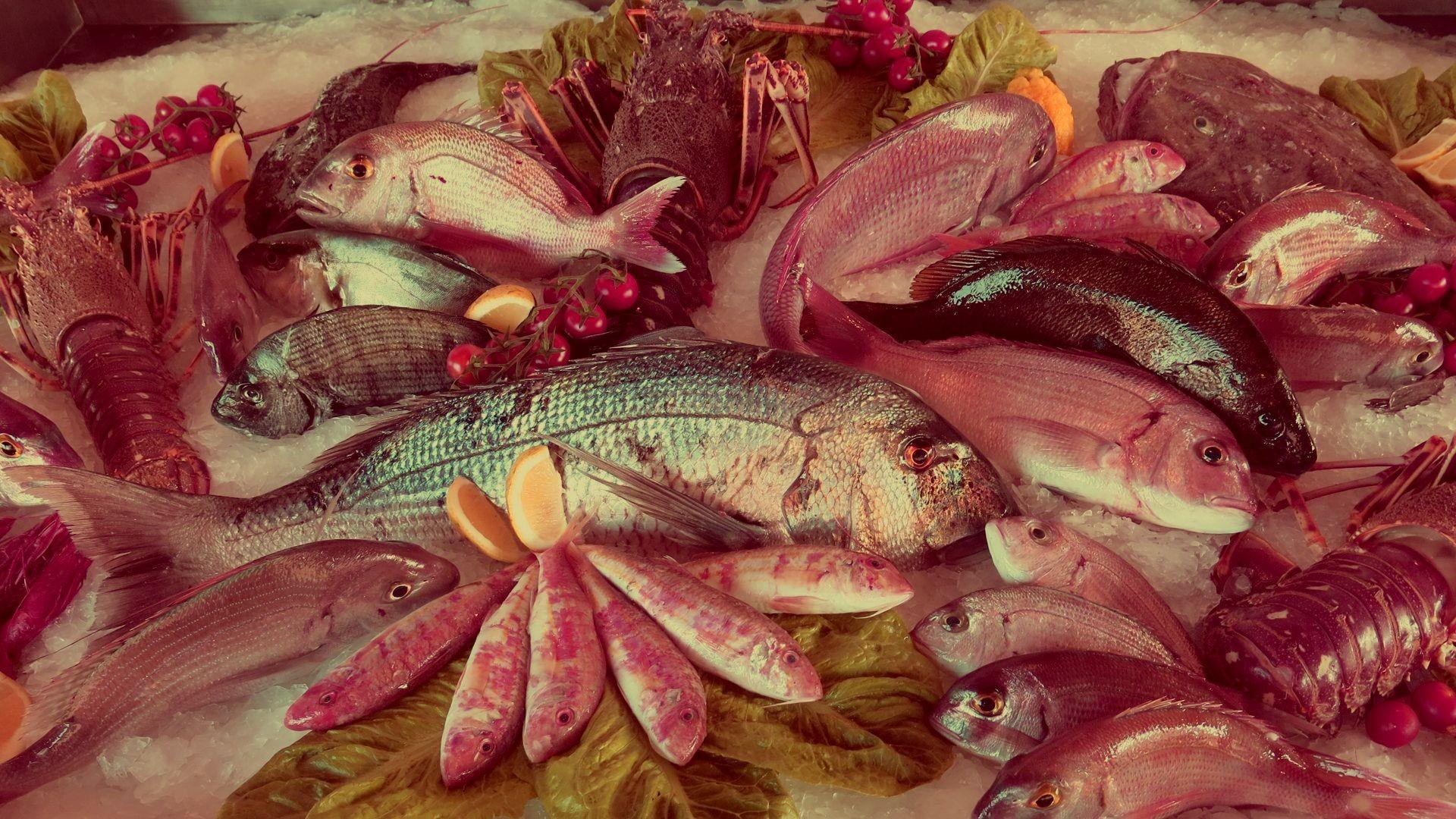 Venta de pescado en Barcelona
