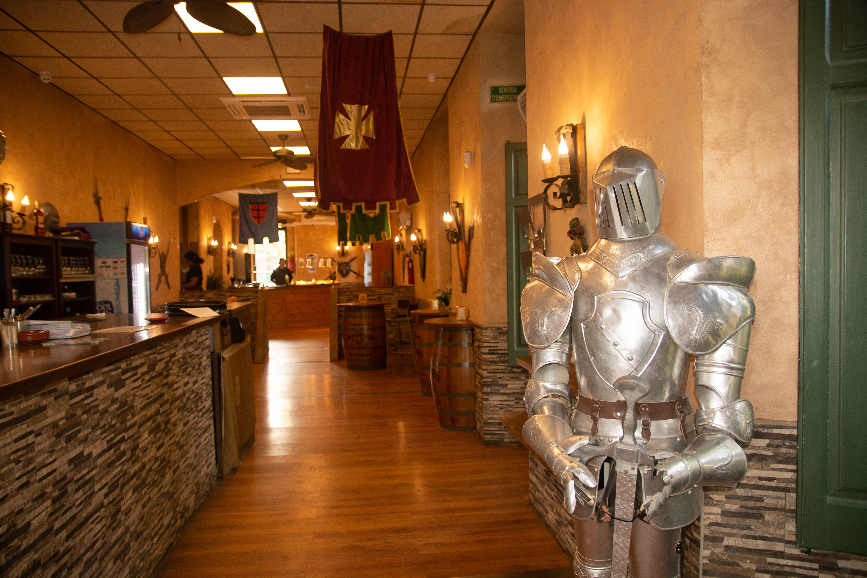 Restaurante medieval en Besalu