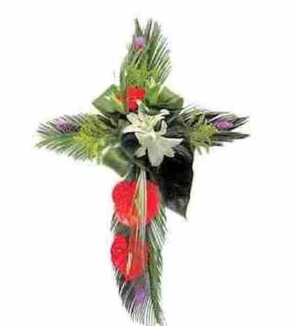 Cruz de diseño: Catálogo de Regalos de Floresdalia.com