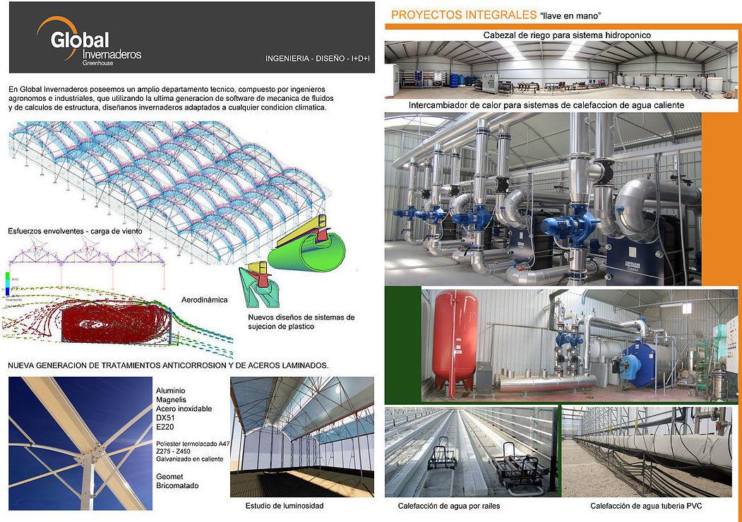 Foto 5 de Fabricación y creación de proyectos integrales para la agricultura protegida en Murcia   Global Invernaderos Greenhouse